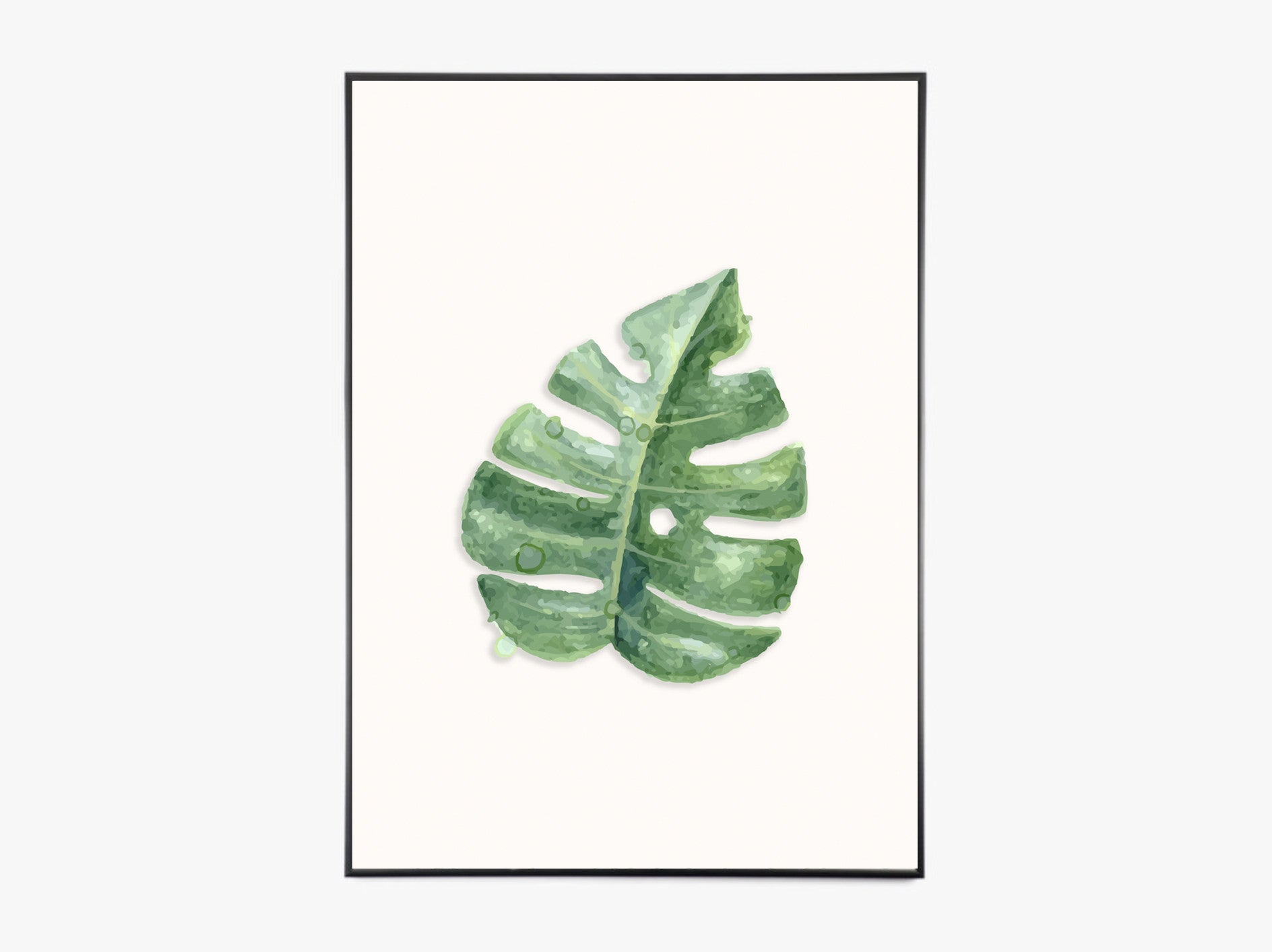 Monstera Leaf - Color fra Paper Stories