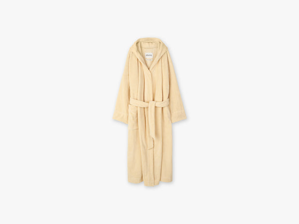 Hooded Bathrobe Terry, Sahara fra Aiayu