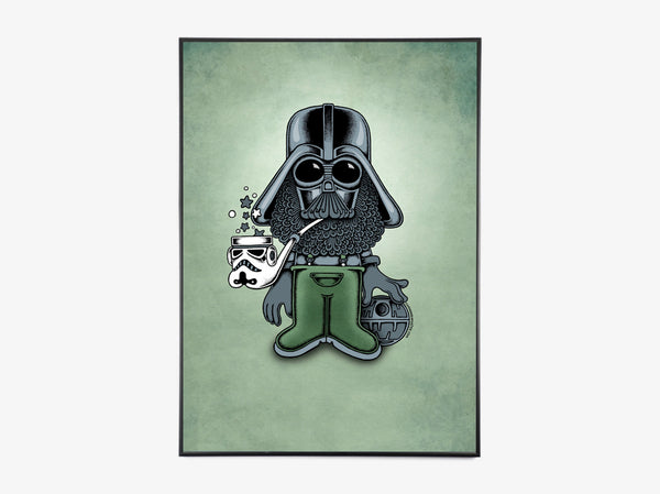 Star Wars - Darth Waders fra Copenhagen Poster