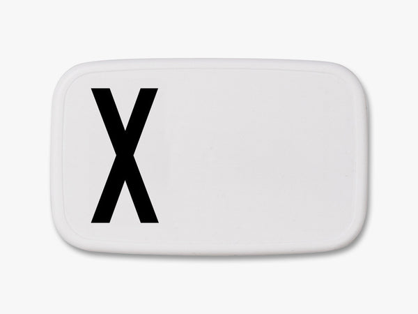 X - Personal Lunch Box fra Design Letters