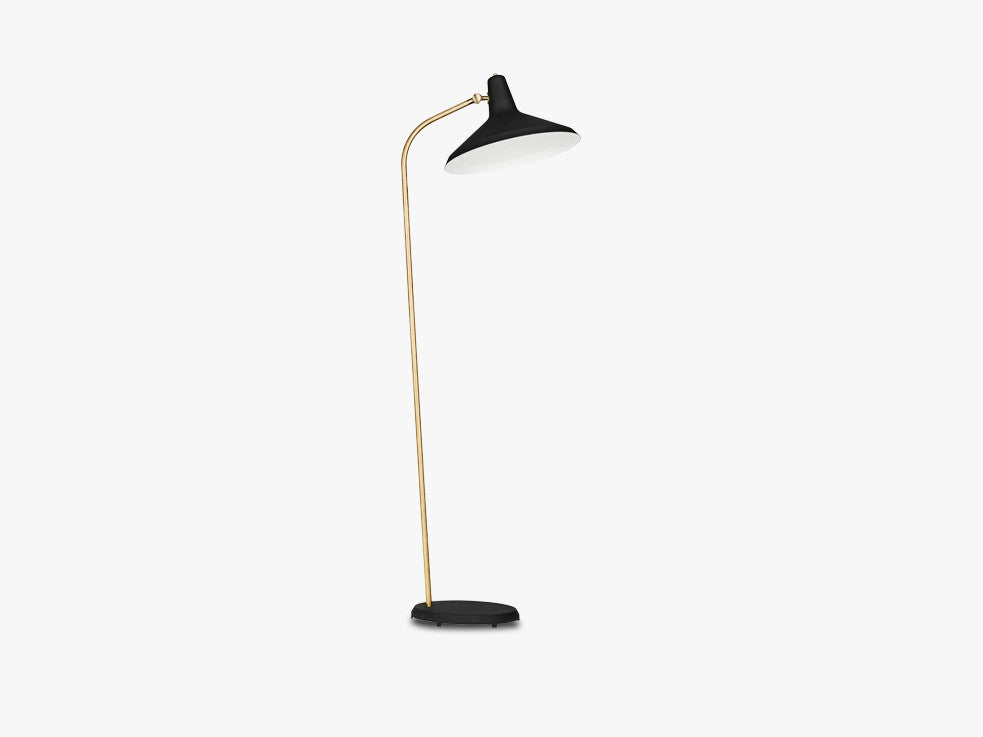 G-10 Floor Lamp, Black fra GUBI