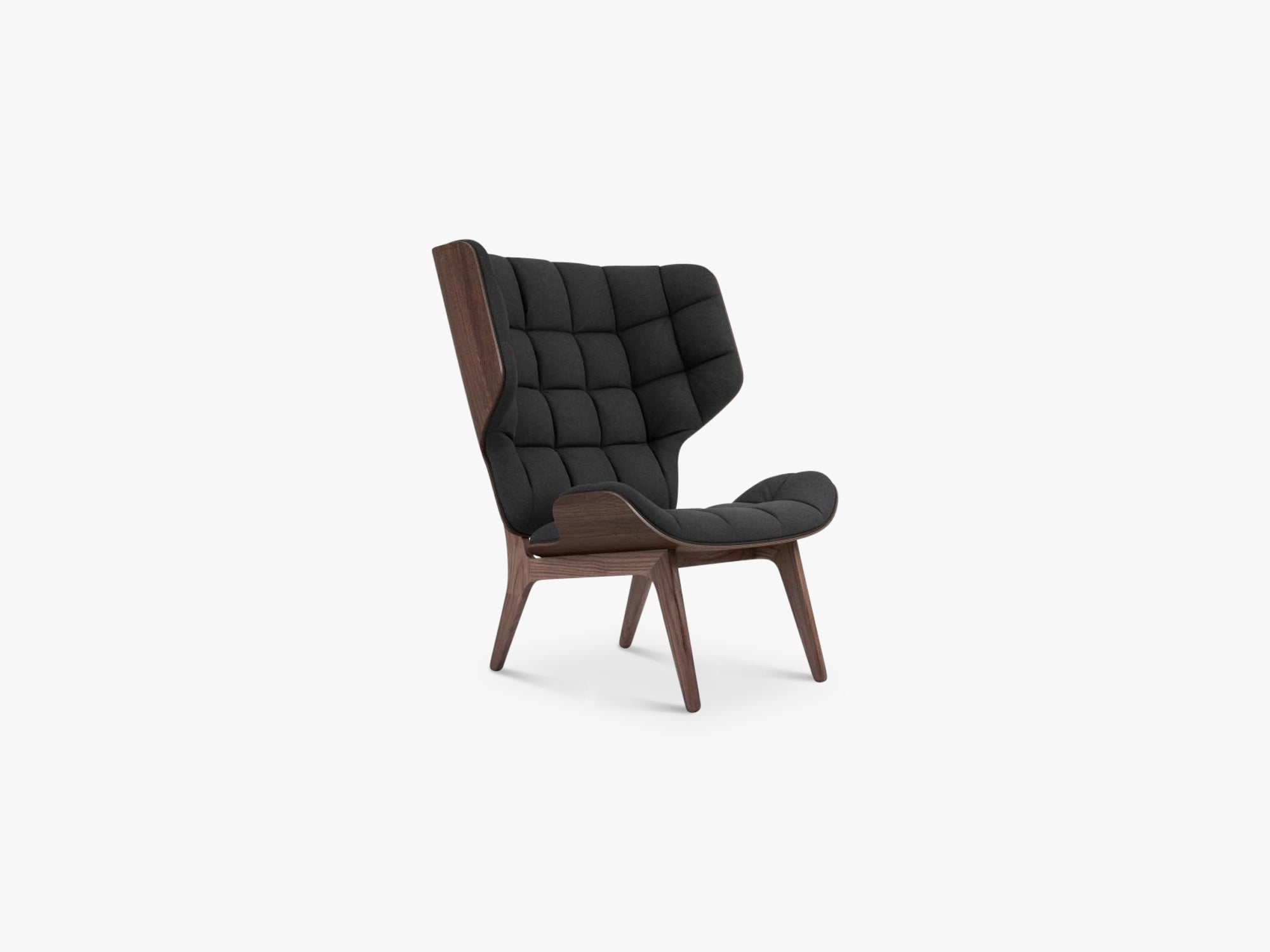Mammoth Chair, Dark Stained/Coal Grey fra NORR11