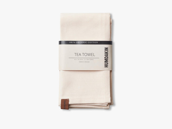 Organic tea Towels, Rosa nature fra HUMDAKIN