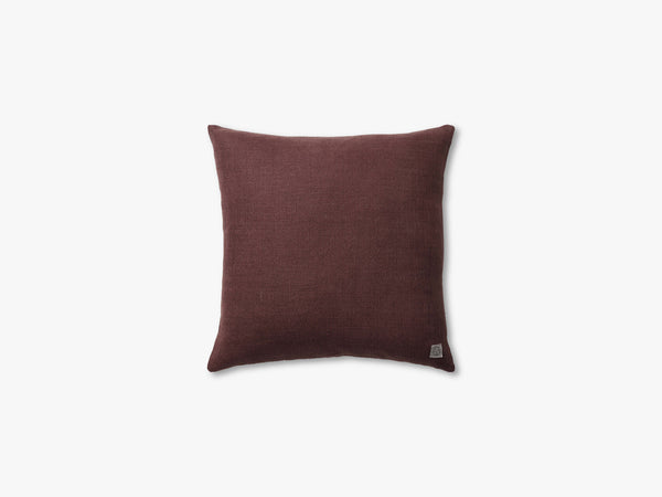 Collect Cushion SC28 - 50x50, Burgundy/Heavy Linen fra &tradition