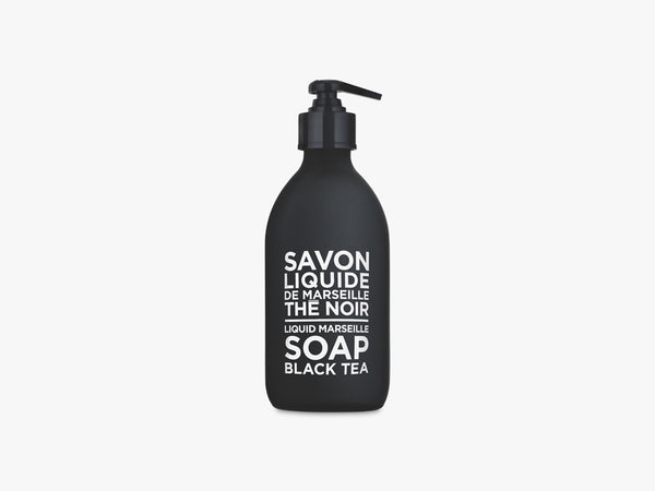 BW Liquid Soap 300ml, Black Tea fra Savon De Marseille