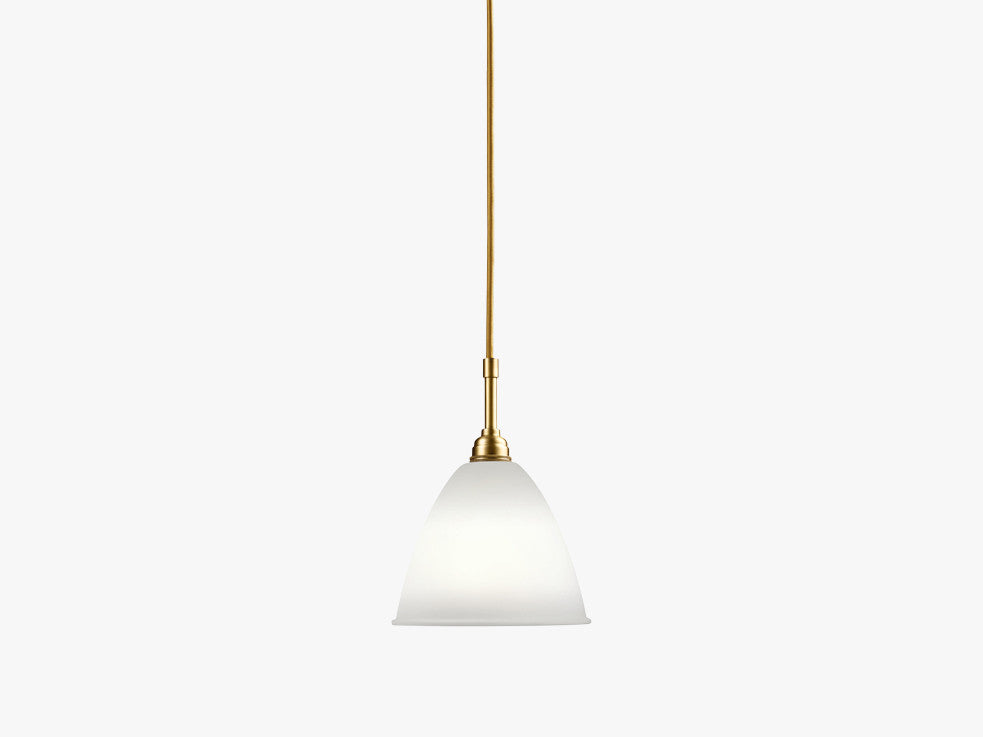 Bestlite BL9 Pendant, Brass Base, Bone China fra GUBI