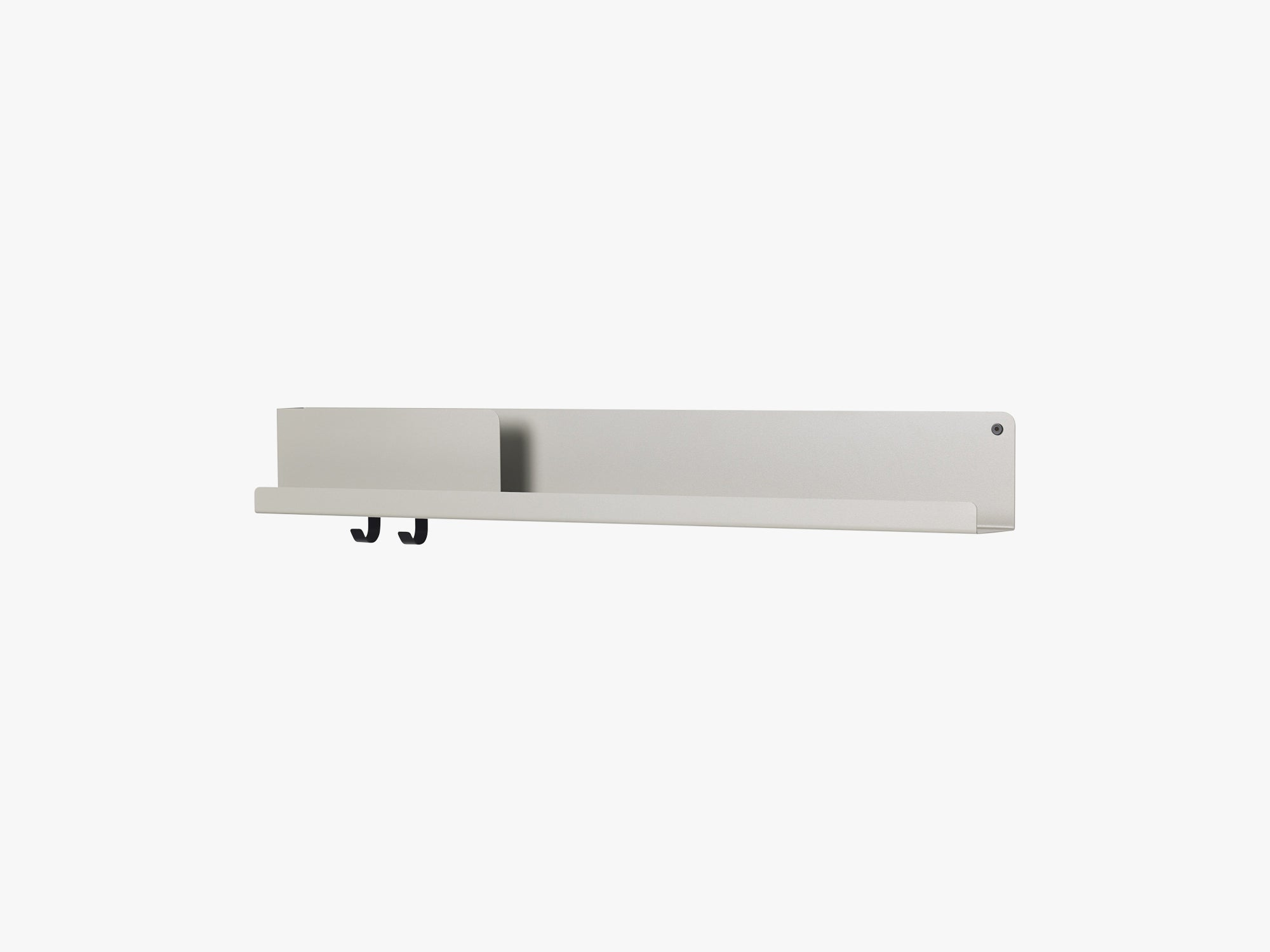 Folded Shelves / Large, Grey fra Muuto