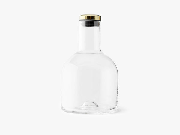 Bottle Carafe, 1,4 Ltr W. Brass Lid fra Menu