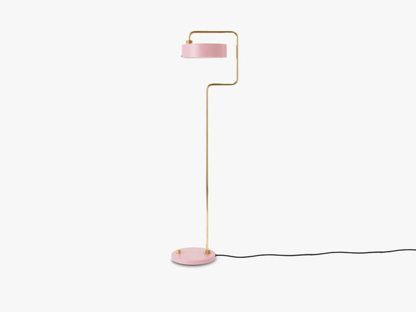 Petite Machine Floor Lamp, Light Pink fra Made By Hand