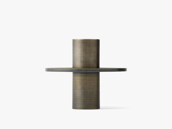 Antipode Candle Holder 02, Bronzed Brass fra Menu