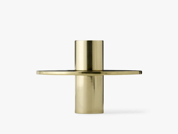 Antipode Candle Holder 03, Mirror Polished Brass fra Menu