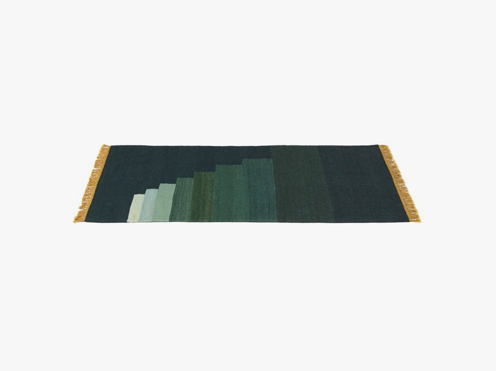 Another Rug - AP1, Green Jade fra &tradition