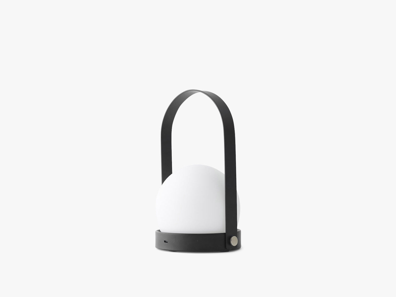 Carrie LED Lamp, Black (Genopladelig) fra Menu