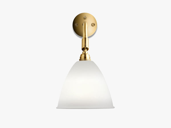 Bestlite BL7 Wall Lamp - Ø16 - Brass Base, Bone China fra GUBI