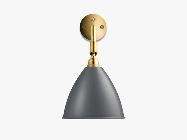 Bestlite BL7 Wall Lamp - Ø16 - All Brass, Grey fra GUBI