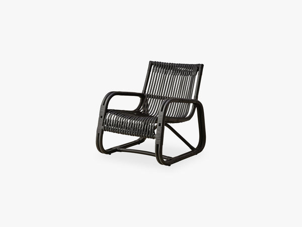 Curve Loungestol Indoor, Black fra Cane-Line