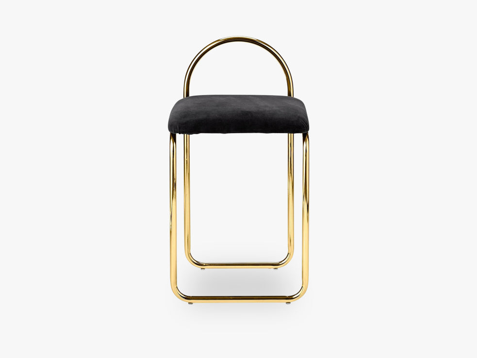 ANGUI chair, black/gold fra AYTM