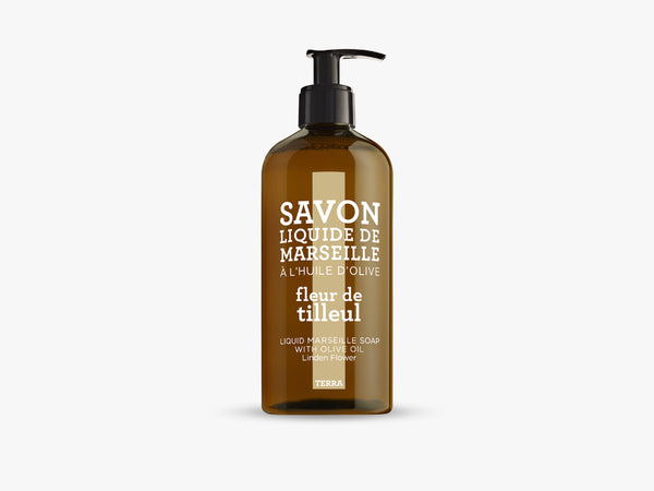 TERRA Liquid Soap 500ml, Linden Flower fra Savon De Marseille