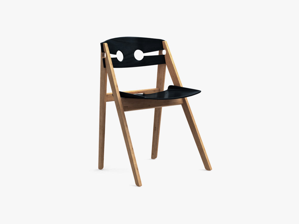 Dining Chair no 1, Black fra We Do Wood