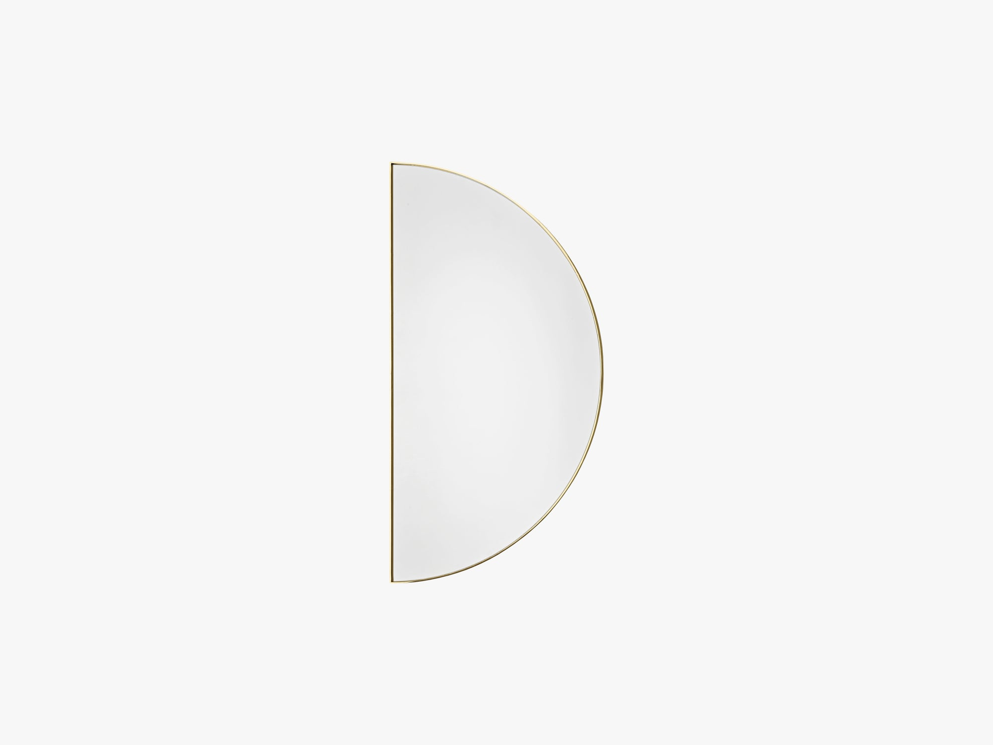 UNITY mirror 1/2 circle gold, one size fra AYTM