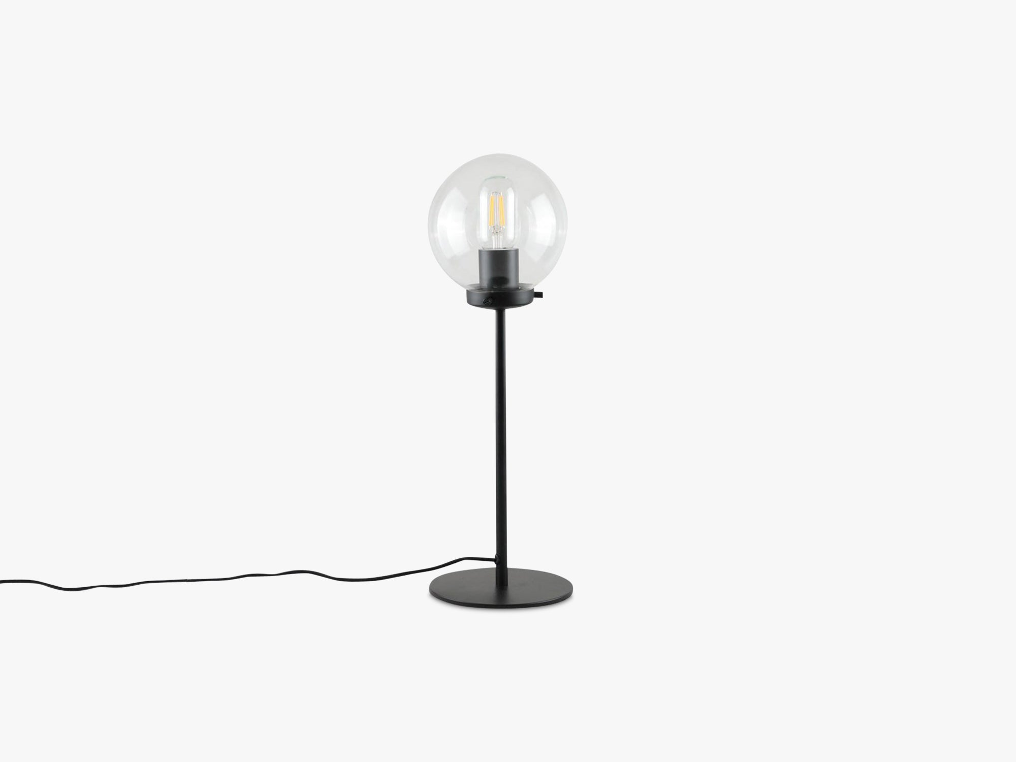Ball Table Lamp - Small, Clear fra Specktrum