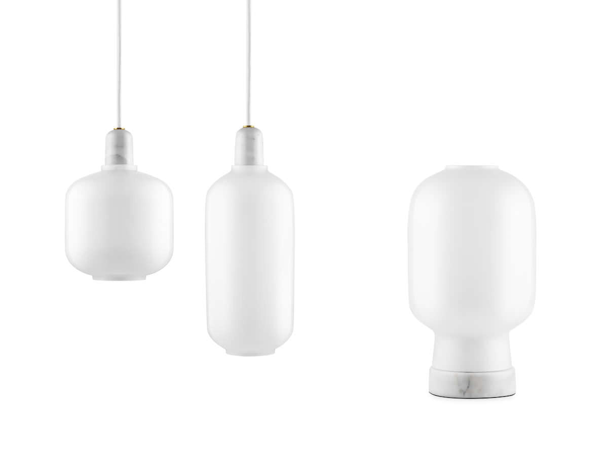 Amp Large, White fra Normann Copenhagen