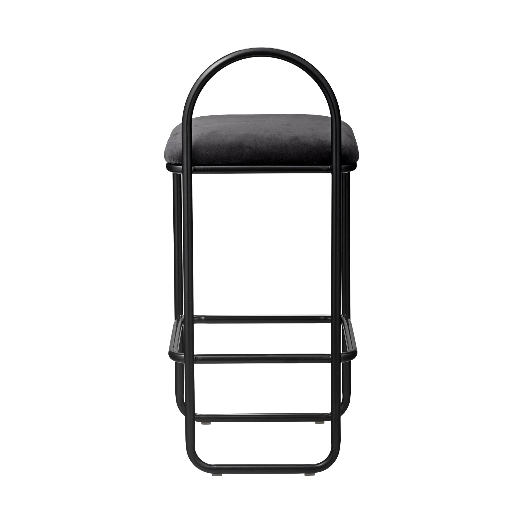 ANGUI bar chair low, anthracite fra AYTM