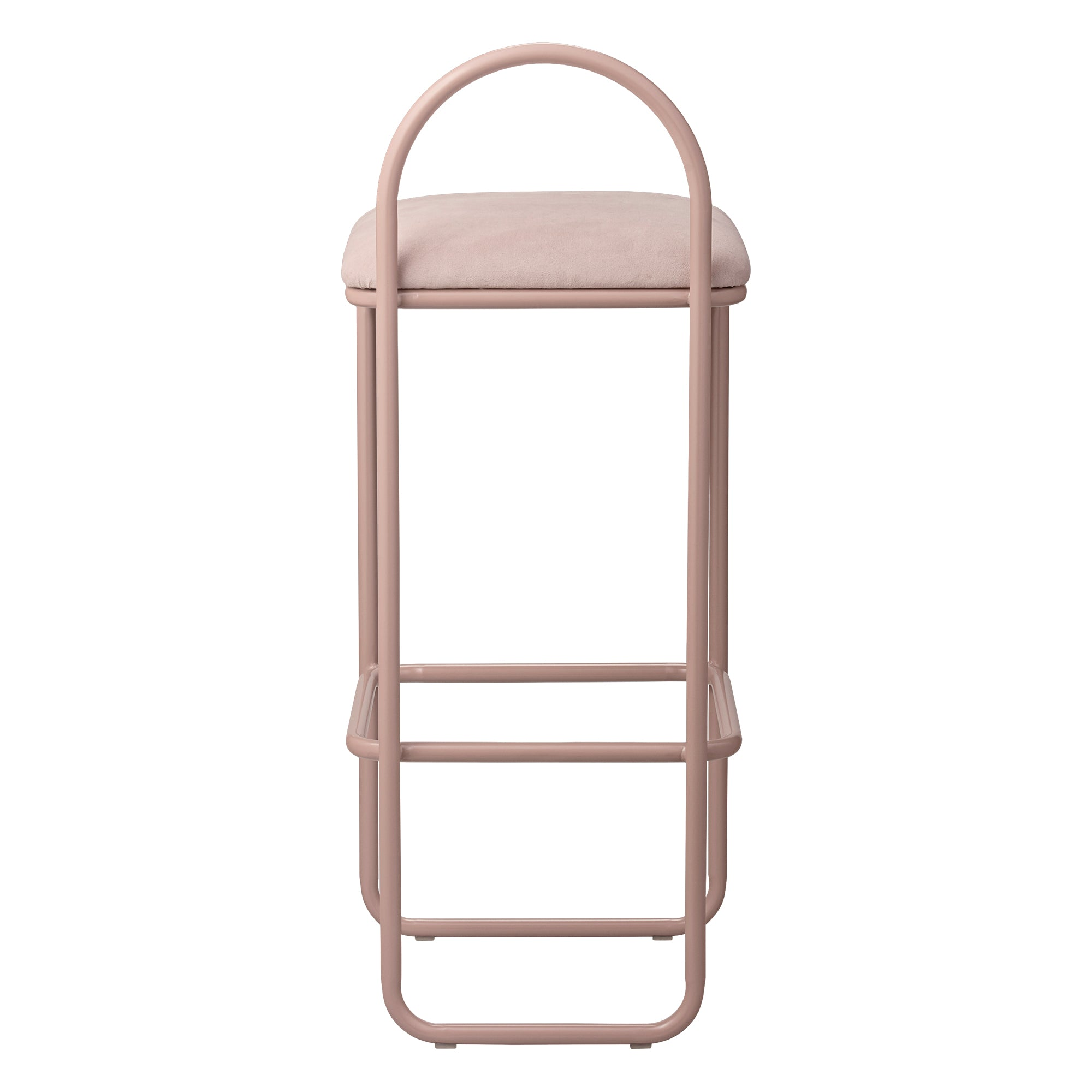 ANGUI bar chair high, rose fra AYTM