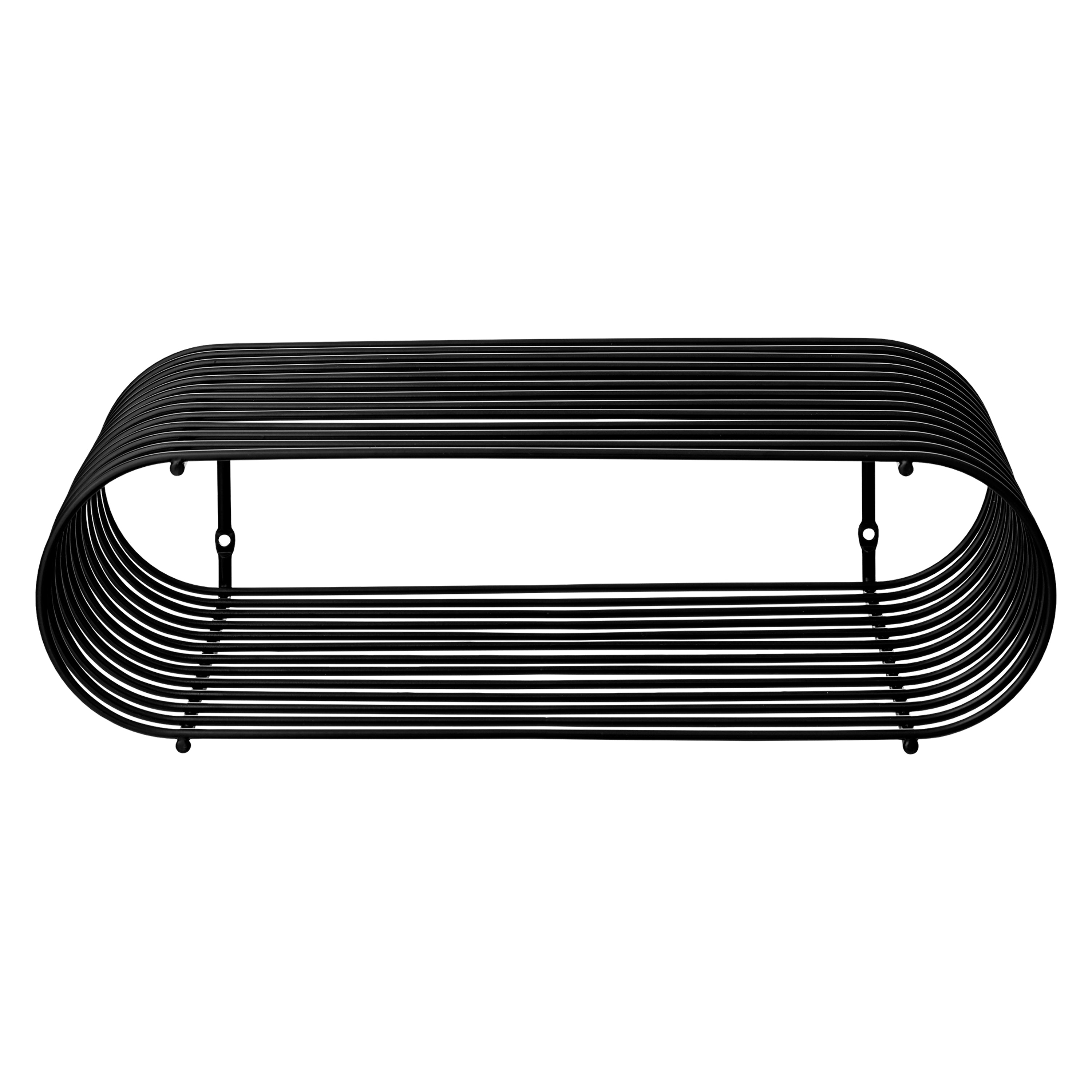 CURVA shelf black, one size fra AYTM