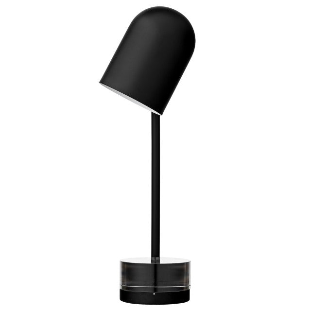 Luceo Table lamp, Black/Clear fra AYTM