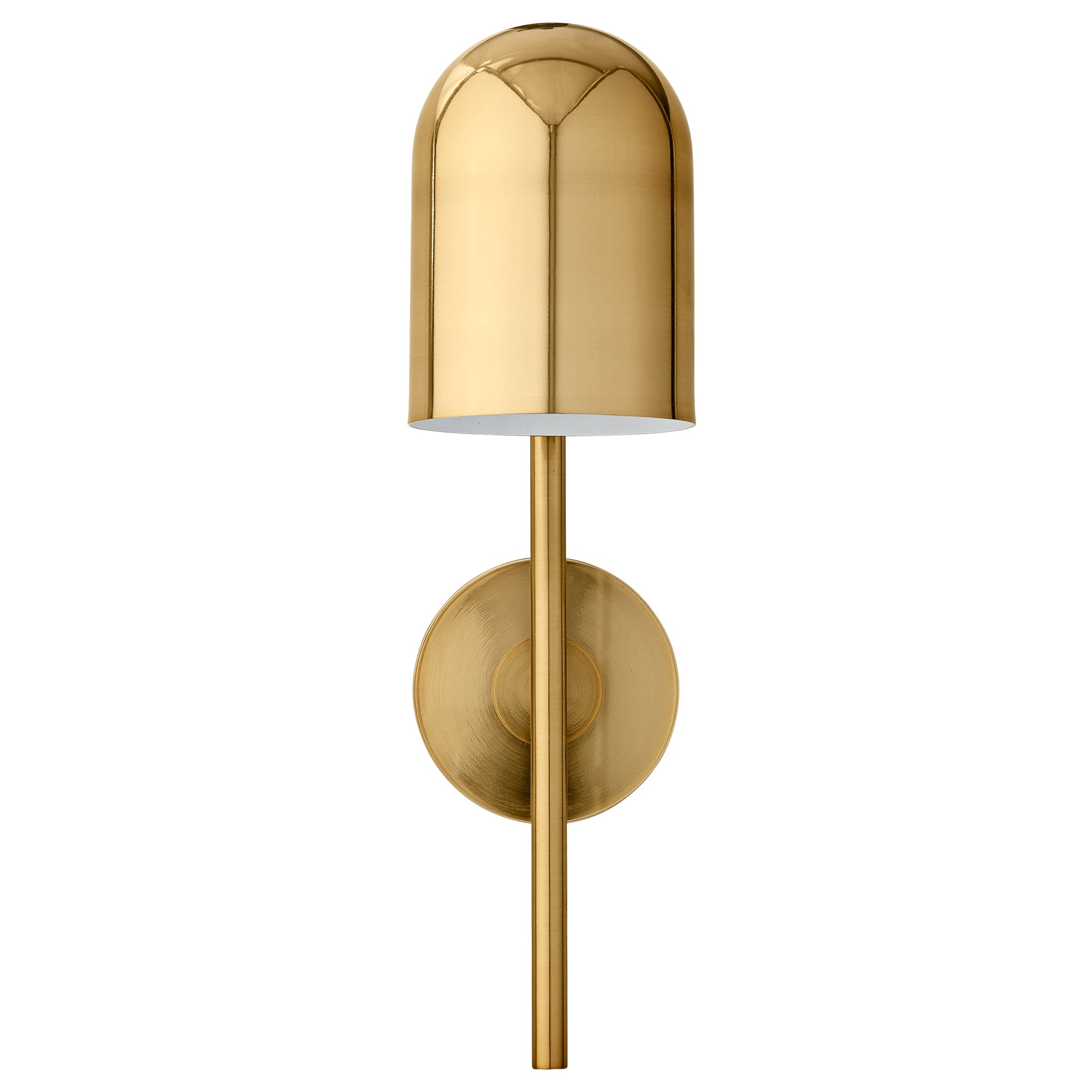 Luceo wall lamp, Gold/Clear fra AYTM