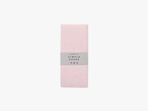 Sponge Cloth, Pink fra Simple Goods