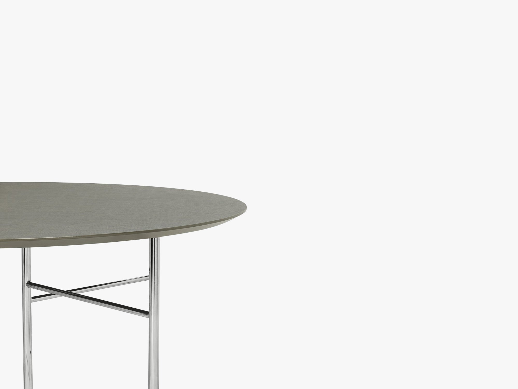Mingle Table Top Round Ø130 Tarkett fra Ferm Living