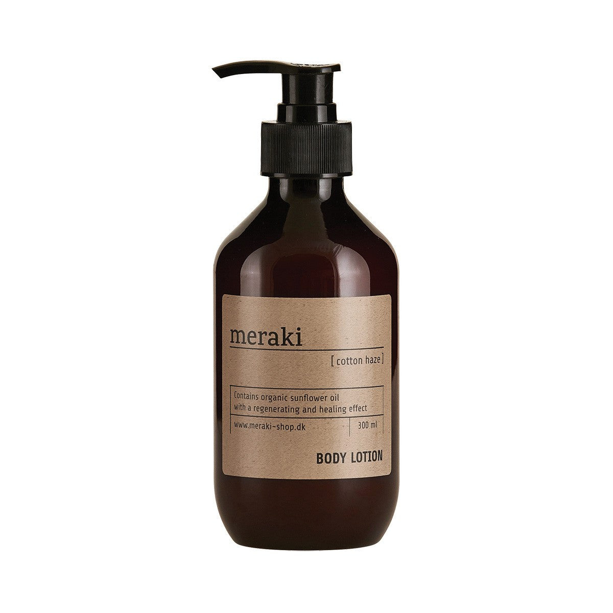 Body Lotion, Cotton Haze 300ml fra Meraki