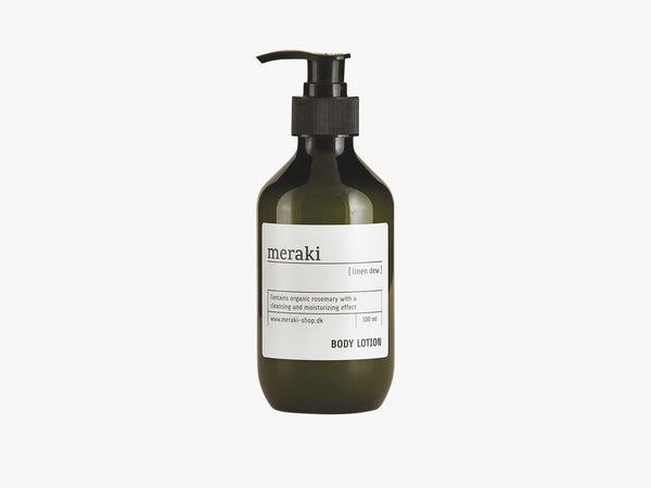 Body Lotion, Linen Dew 300ml fra Meraki