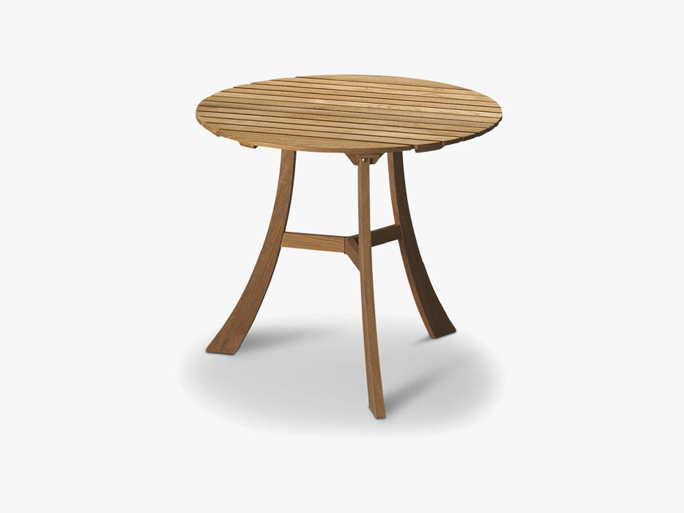 Vendia Table Ø75, Teak fra SKAGERAK