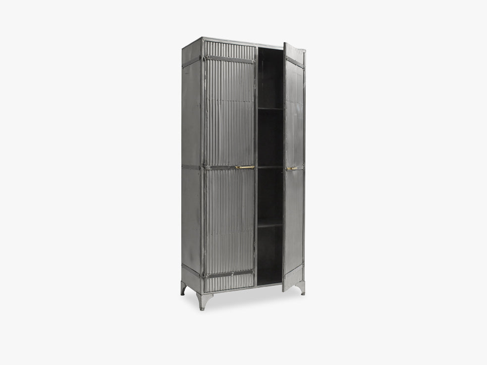 DOWNTOWN cabinet for clothes, raw fra Nordal