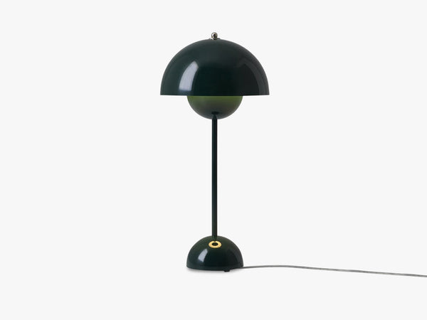 Flowerpot Table Lamp - VP3, Dark Green fra &tradition