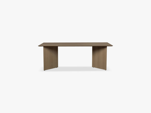 Mingle Table Top 210 cm, Black Stained Veneer fra Ferm Living