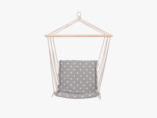 Hammock Chair, Grey, Cotton fra Bloomingville