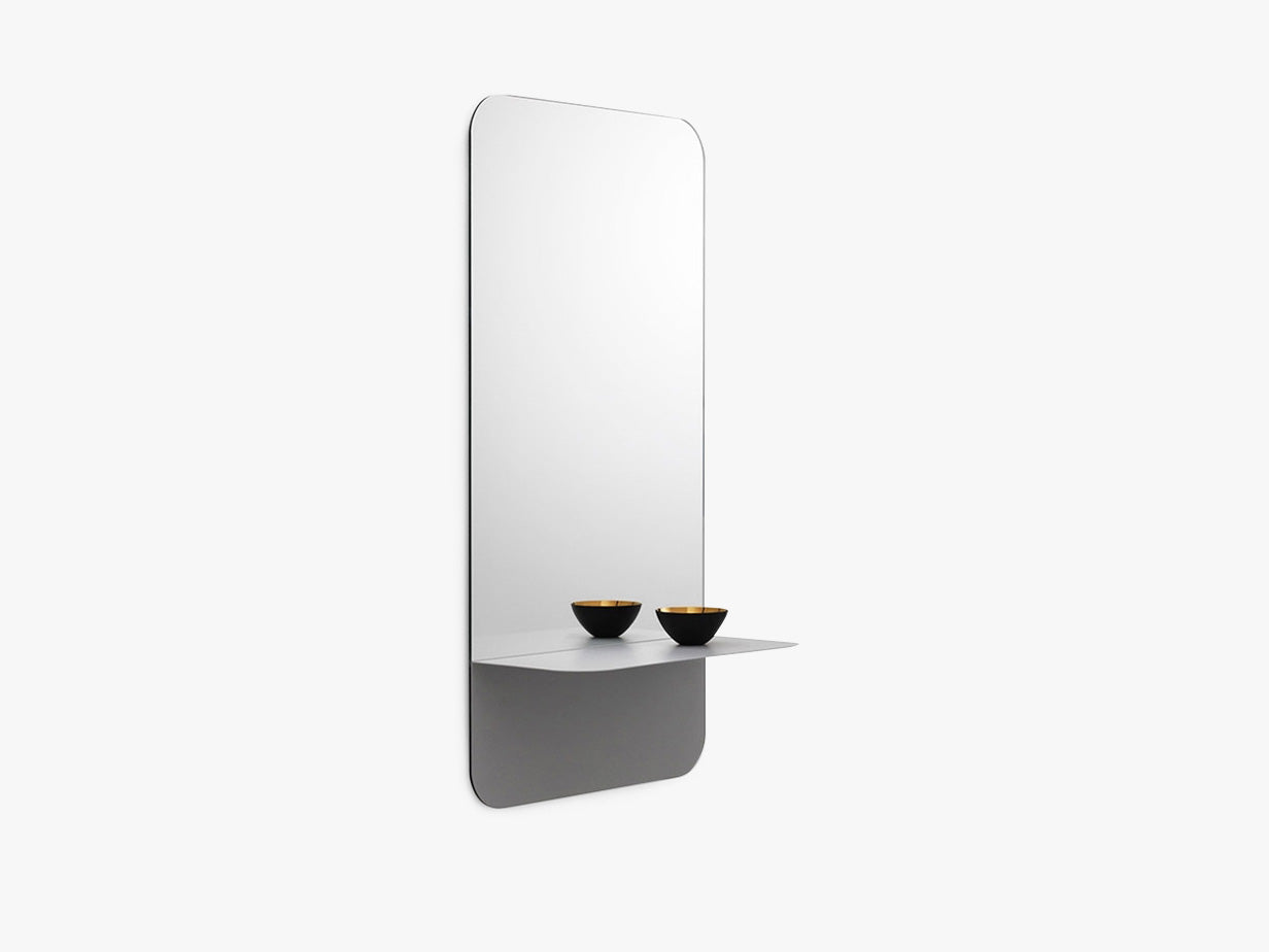 Horizon Mirror Vertical - Grey fra Normann Copenhagen