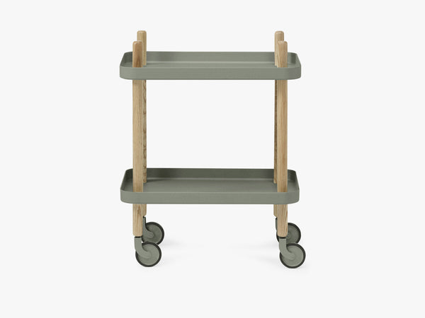 Block Table, Dusty Green fra Normann Copenhagen