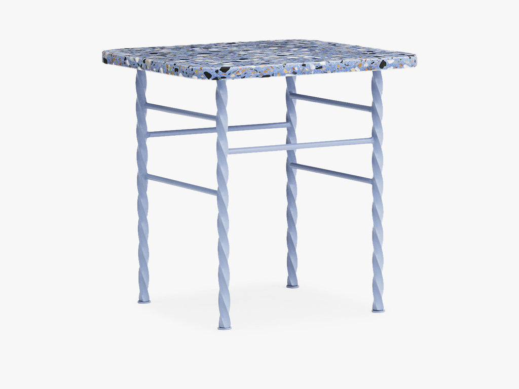 Terra Table - Small, Blue fra Normann Copenhagen