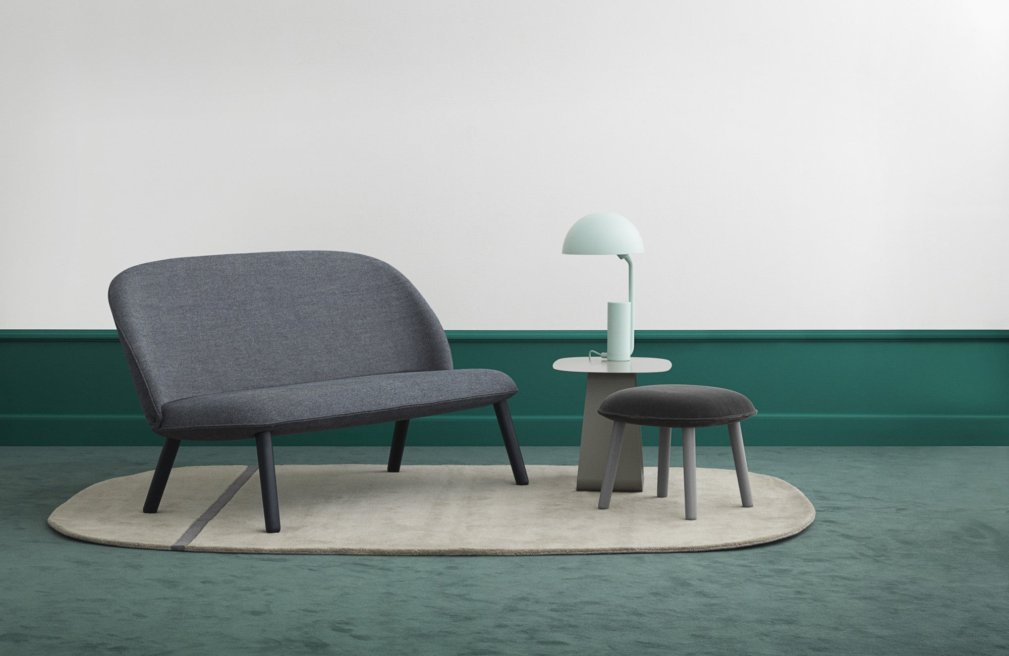 Ace Sofa Nist - Lake Blue fra Normann Copenhagen