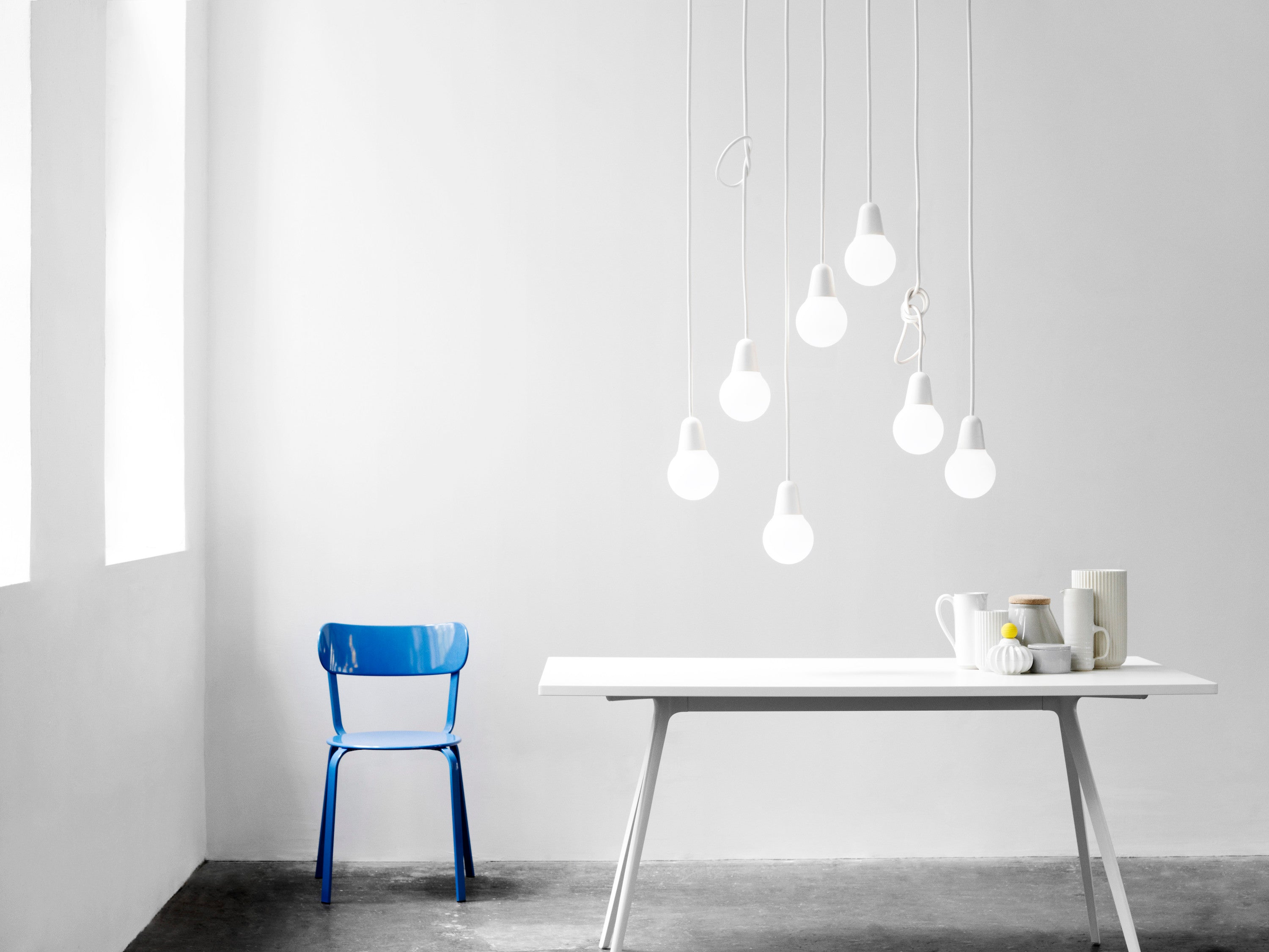 Bulb Fiction™ P1, White fra Fritz Hansen