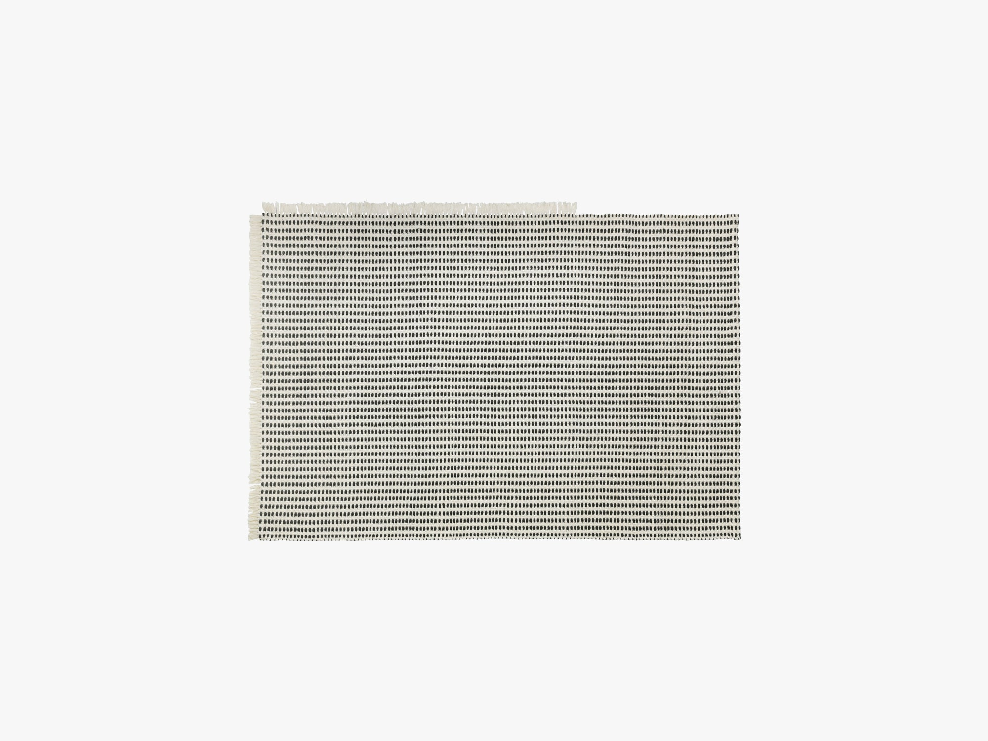Way Outdoor Rug, Off-White/Blue fra Ferm Living
