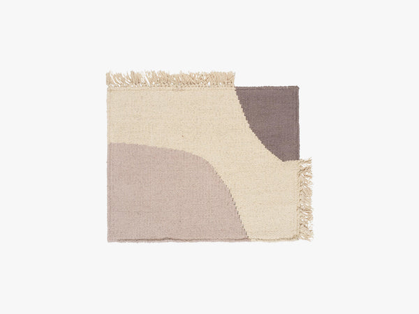 Earth Place Mat, Grey fra Ferm Living