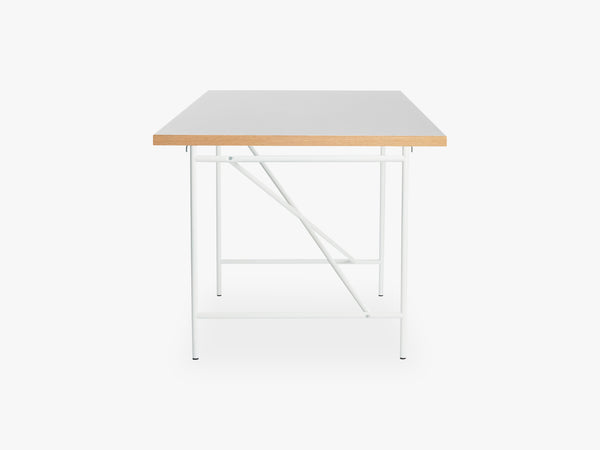 Eiermann Frame 1 Desk, White fra Egon Eiermann