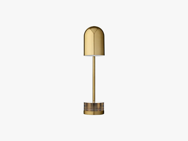 Luceo Table lamp, Gold/Clear fra AYTM