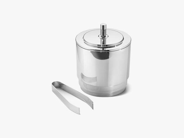 Manhattan Ice Bucket & Tong, 1,5L fra Georg Jensen